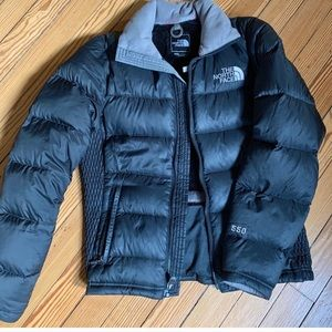 North Face 550 down jacket